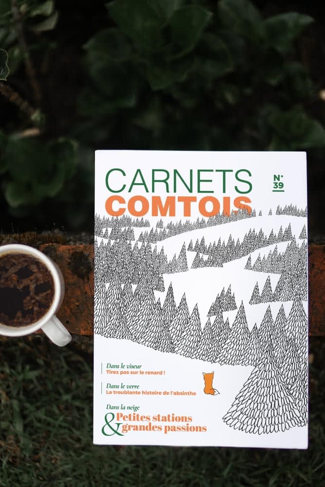 Editorial - Carnets comtois by Wazacom